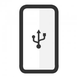 Cambiar conector de carga Samsung A80 - Imagen 1
