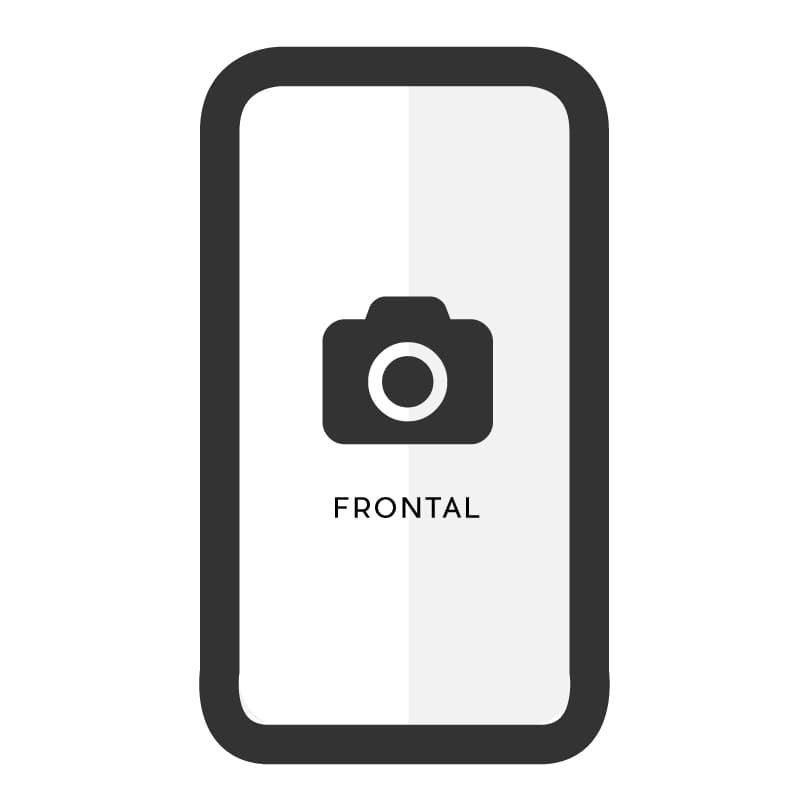 Cambiar cámara frontal Samsung A20E - Imagen 1