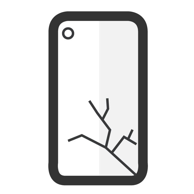 Cambiar carcasa trasera Samsung A20E - Imagen 1