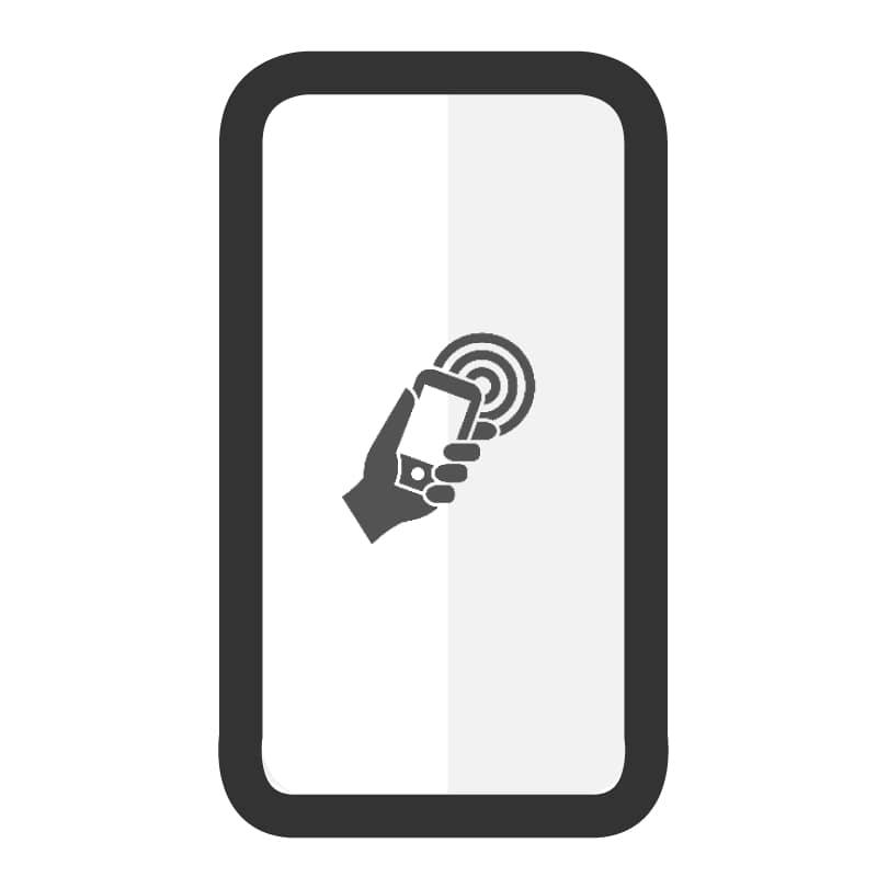 Cambiar antena NFC Samsung A20E - Imagen 1