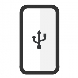 Cambiar conector de carga Samsung A8S - Imagen 1