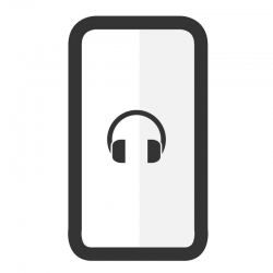 Cambiar auricular Samsung A8S - Imagen 1