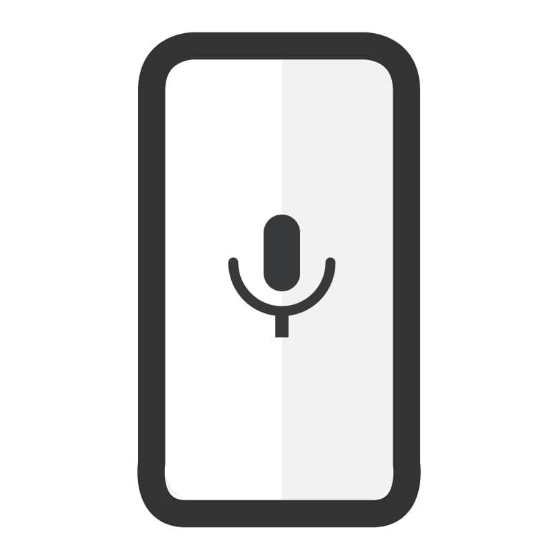 Cambiar micrófono Samsung A8S - Imagen 1