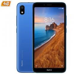 SMARTPHONE MÓVIL XIAOMI REDMI 7A AZUL MATE - 5.45'/13.8CM HD+ - OC SNAPDRAGON 439 - 2GB RAM - 16GB - CAM 12/5 MP - 4G - DUAL SIM