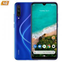 SMARTPHONE MÓVIL XIAOMI MI A3 BLUE - 6.088'/15.4CM - OC SNAPDRAGON 665 - 4GB RAM - 64GB - CAM(48+8+2)/32MP - ANDROID ONE - 4G -