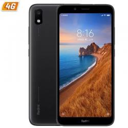 SMARTPHONE MÓVIL XIAOMI REDMI 7A NEGRO - 5.45'/13.8CM HD+ - OC SNAPDRAGON 439 - 2GB RAM - 16GB - CAM 12/5 MP - 4G - DUAL SIM - B
