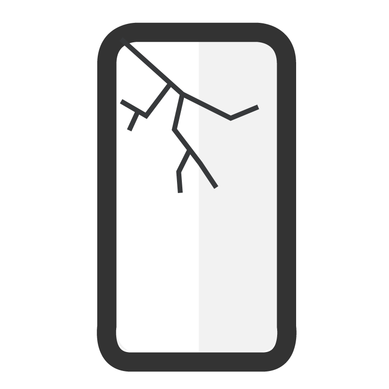 Cambiar pantalla completa LG Q6