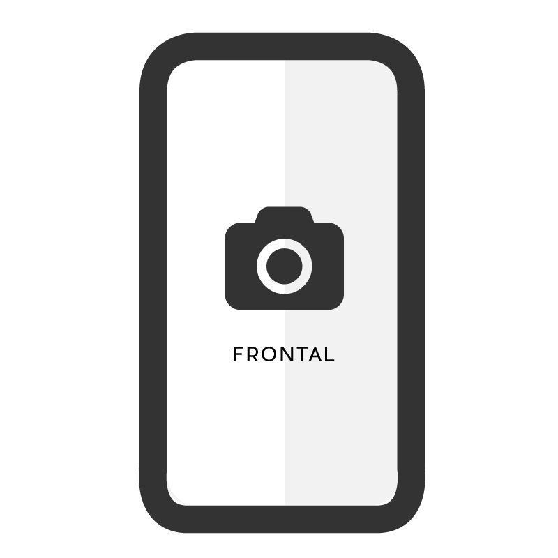 Cambiar cámara frontal Sony Xperia XA2 Plus
