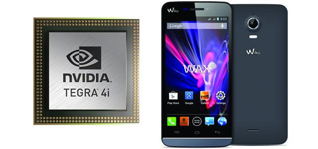 Wiko Wax, el primer smartphone con Tegra 4i