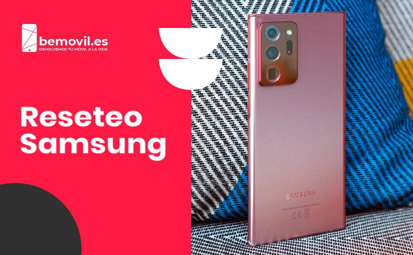 Cómo Resetear un Samsung