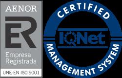 Sellos Aenor ISO 9001