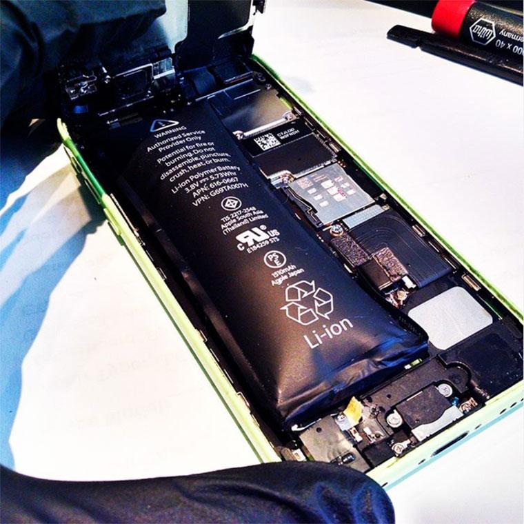 Reparación de batería