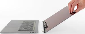 Cambiar pantalla de un MacBook