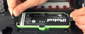 Sustitución de batería robot aspirador