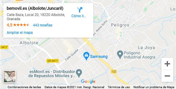 Reparación de móviles en Albolote